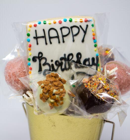 Happy Birthday Cake Pops