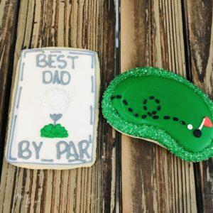 Golf Cookies Set