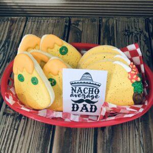 Nacho Average Dad Cookie Set