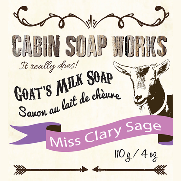 Miss Clary Sage Goats Milk Soap