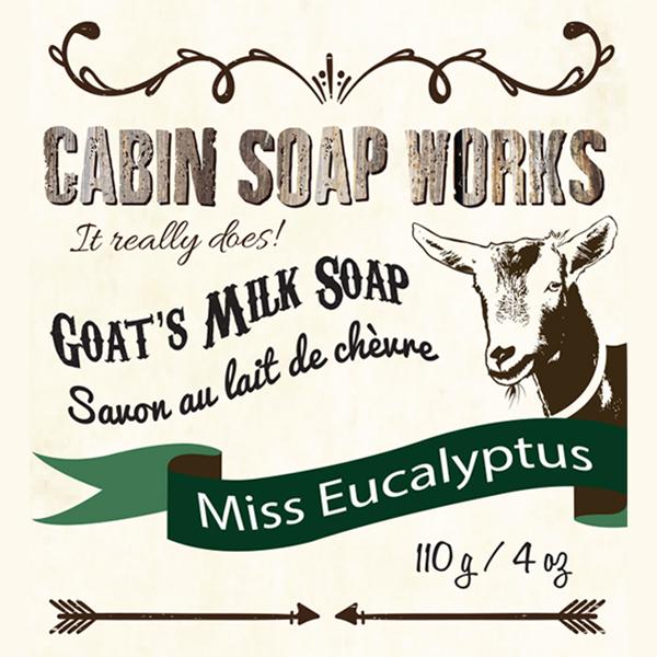 Miss Eucalyptus Goats Milk Soap