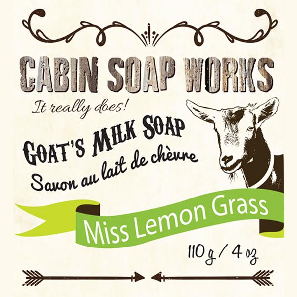 Miss Lemon Grass Goats Milk Soap