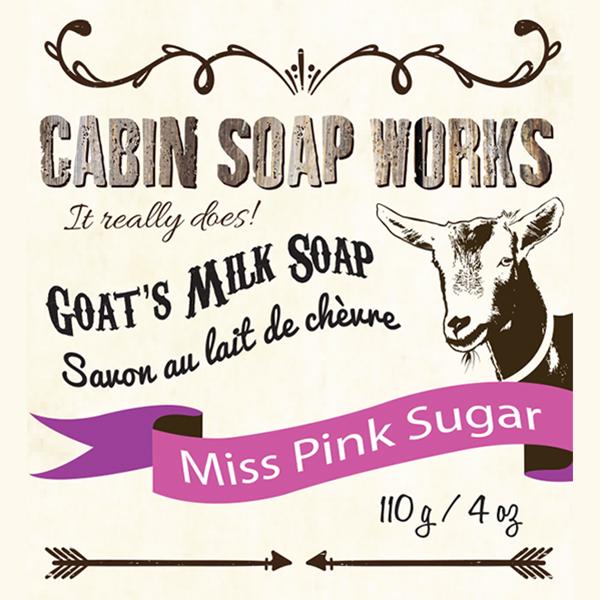 Miss Pink Sugar Goats Milk Soap