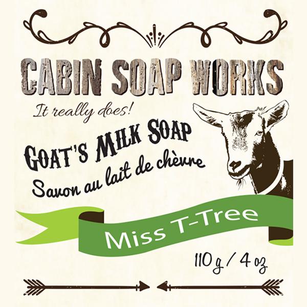 Miss T-Tree Goats Milk Soap