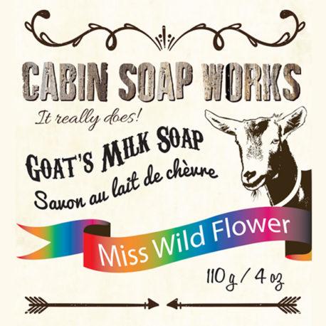 Miss Wild Flower Goats Milk Soap