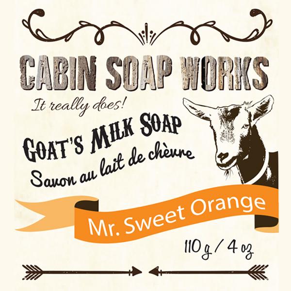 Mr. Sweet Orange Goats Milk Soap