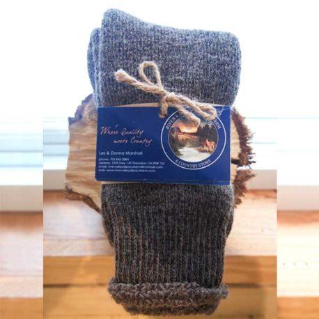Alpaca Fibre Terry Socks
