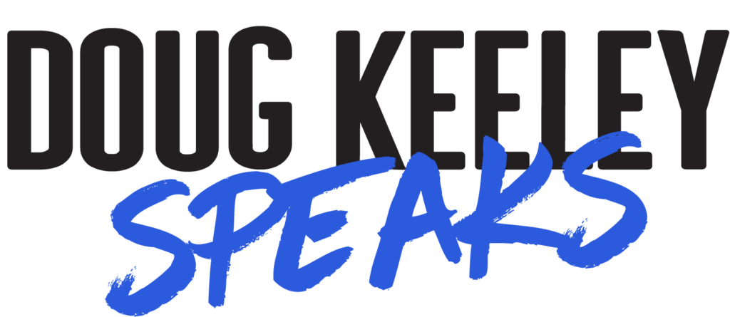 Doug Keeley Speaks Logo