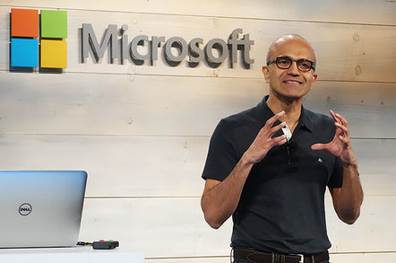 Microsoft employee Satya talking about how stories changes his business for blog