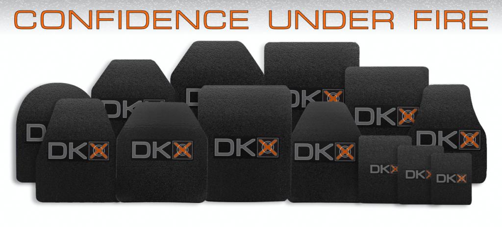 DKX armor plate array