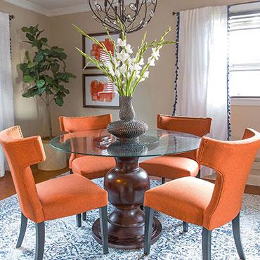 Saudah Saleem Dining Room Design
