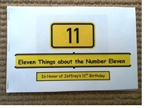Eleven Things about the Number Eleven