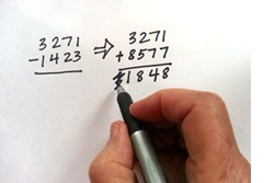 Does Changing Subtraction to Addition Make It Easier?