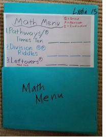 Using Math Menus: Some Nuts & Bolts