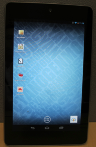 Omie 0.2 Home Screen