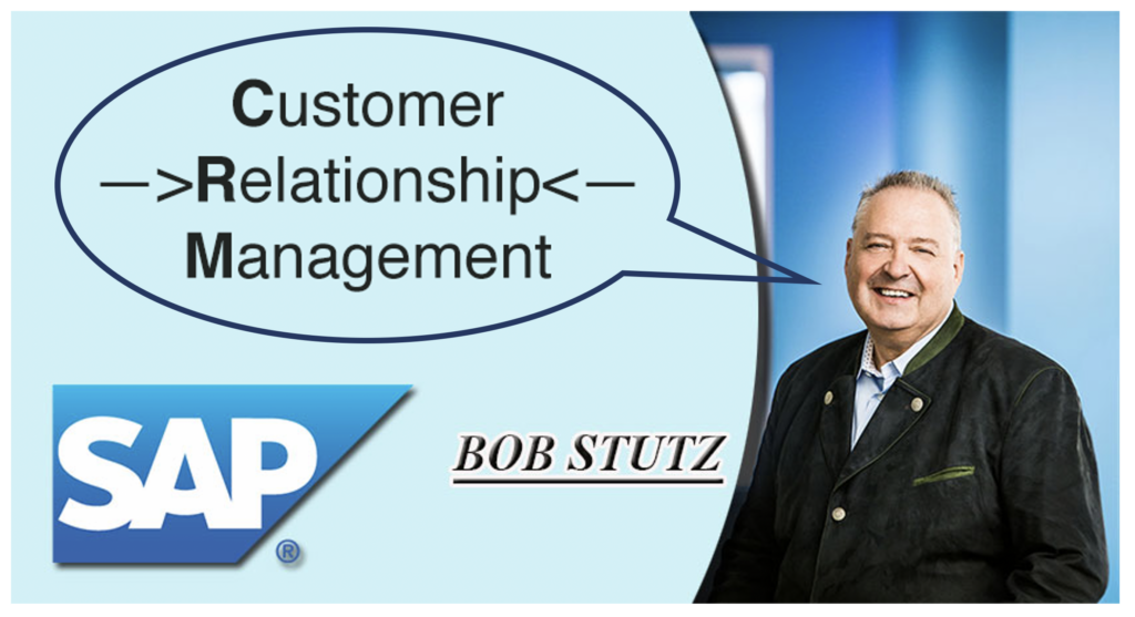 Bob Stutz at SAP
