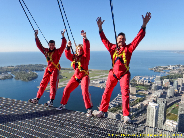 356 m / 1,168 pieds au-dessus du sol à Toronto!