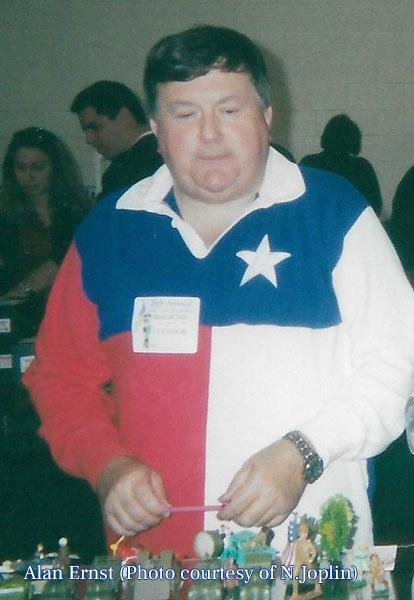 Alan at the Show