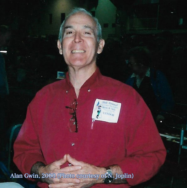 Alan at the Show, 2000