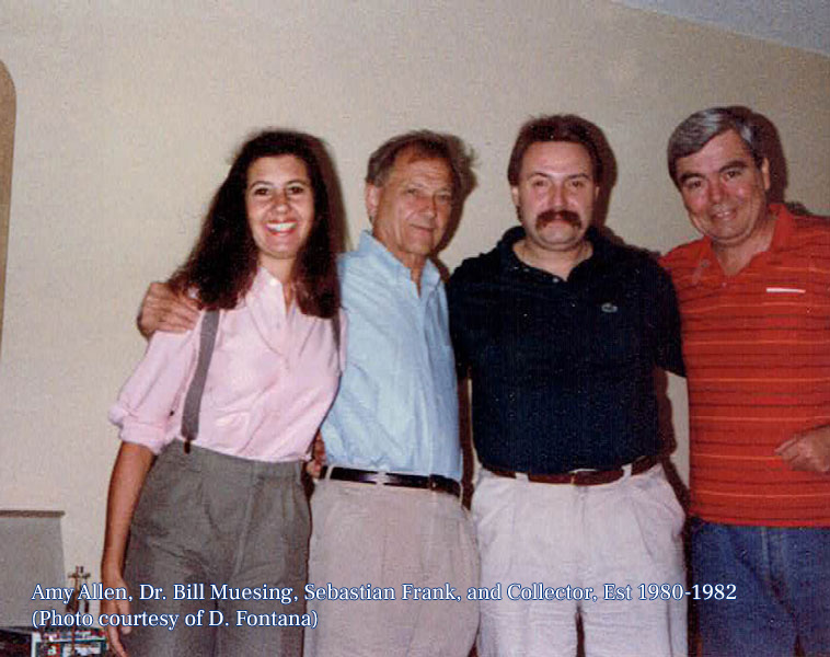 Amy, Dr. Bill, Sebastian, and Collector, 1980-1982