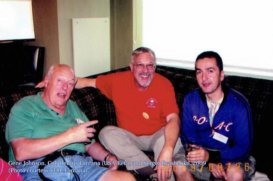 Gene, Dennis, and Sergei, 2009