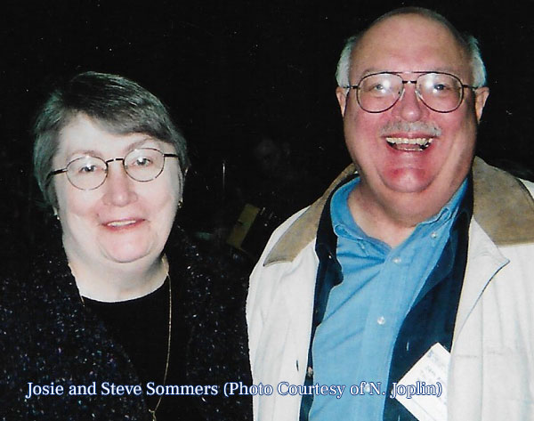 Josie and Steve, founding partners of the Chicago Toy Soldier Show