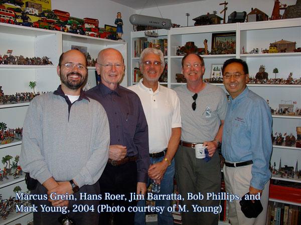 Marcus, Hans, Jim, Bob, and Mark, 2004
