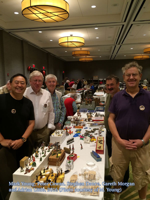 Mark, Peter, Stephen, Gareth, and Adrian, 2016