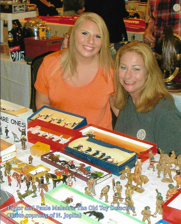 Taylor and Paula, The Old Toy Detective