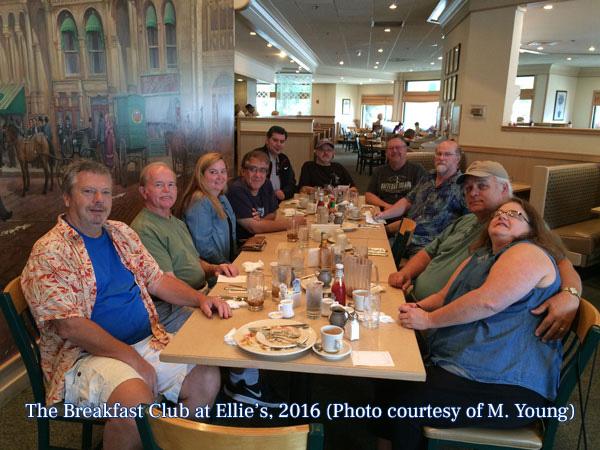 The Breakfast Club at Ellie's, 2016