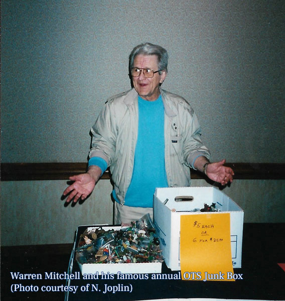 Warren and his famous annual OTS Junk Box