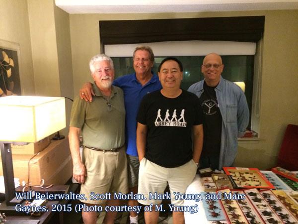 Will, Scott, Mark, and Marc, 2015