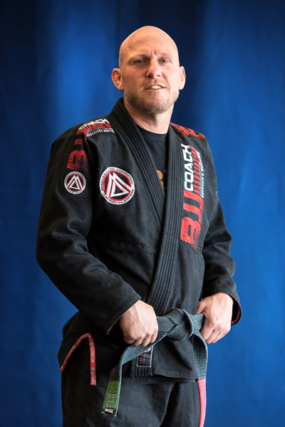 Frank Dupey is a Brazilian Jiu-jitsu Black Belt at Corral's Martial Arts
