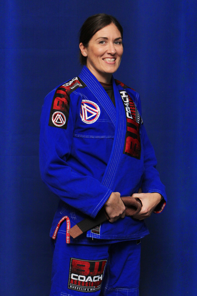 Brianne Corral is a Brazilian Jiu-jitsu Brown Belt at Corral's Martial Arts