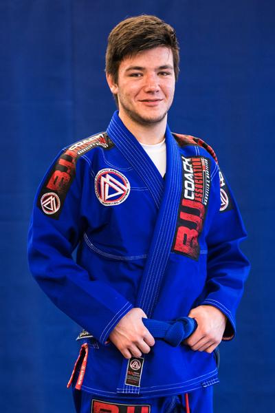 Frank Baker is a Brazilian Jiu-jitsu Blue Belt at Corral's Martial Arts