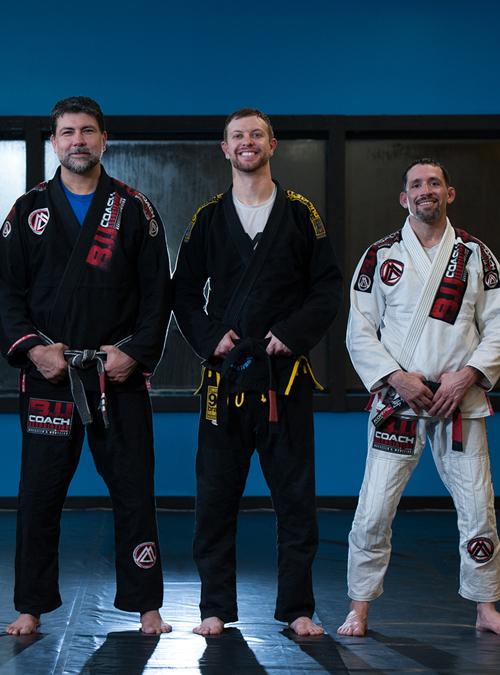 BJJ black belts at Corral's Martial Arts