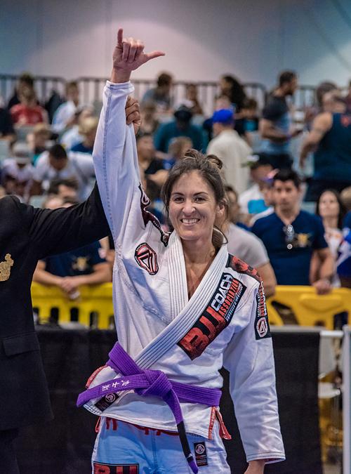 Brianne Corral wins IBJJF World Master 2019