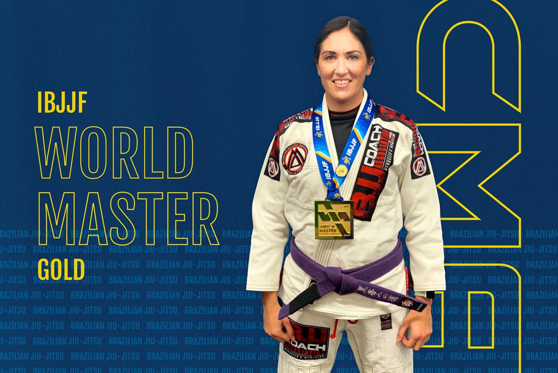 2019 IBJJF World Master Champion, Brianne Corral - Featured Image
