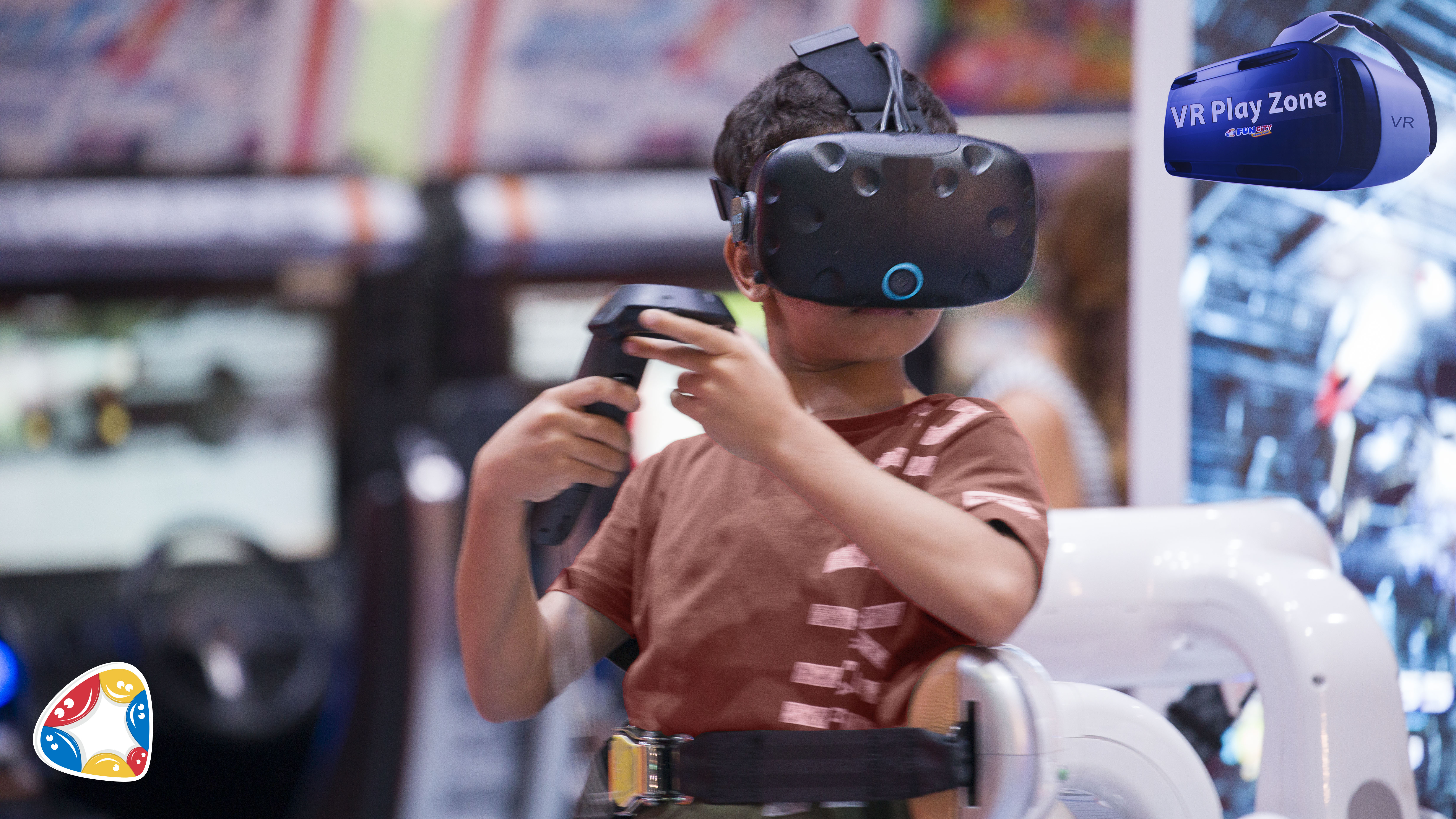 funcity city center doha virtual reality games