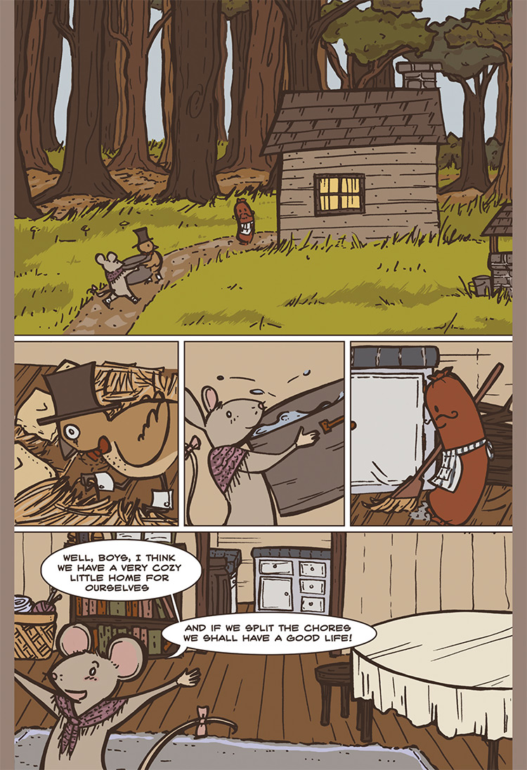 The Bird, the Mouse, & the Sausage pg02