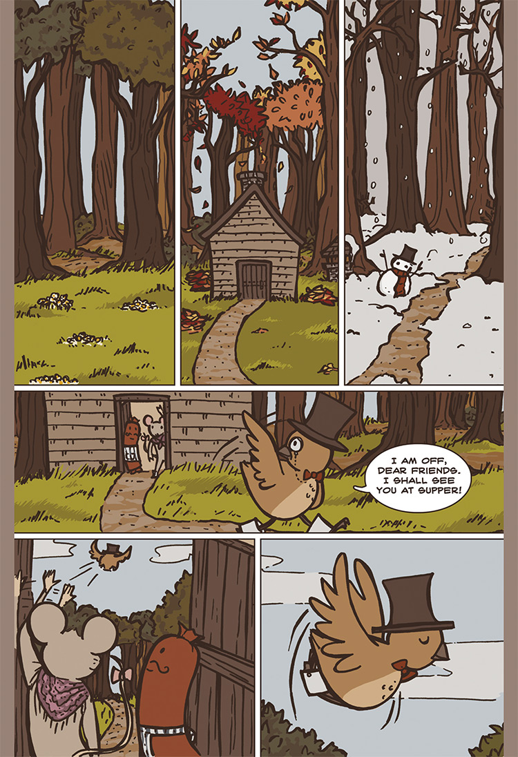 The Bird, the Mouse, & the Sausage pg03