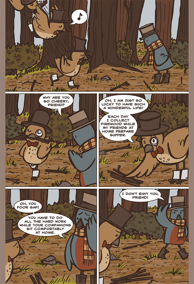 The Bird, the Mouse, & the Sausage pg04