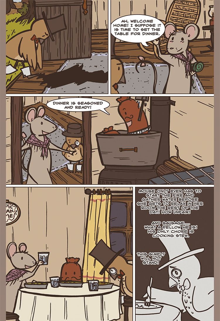 The Bird, the Mouse, & the Sausage pg05