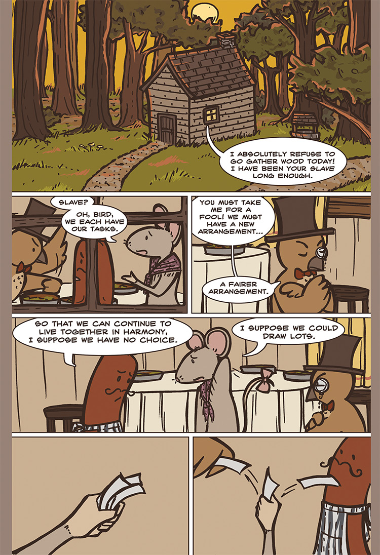The Bird, the Mouse, & the Sausage pg06