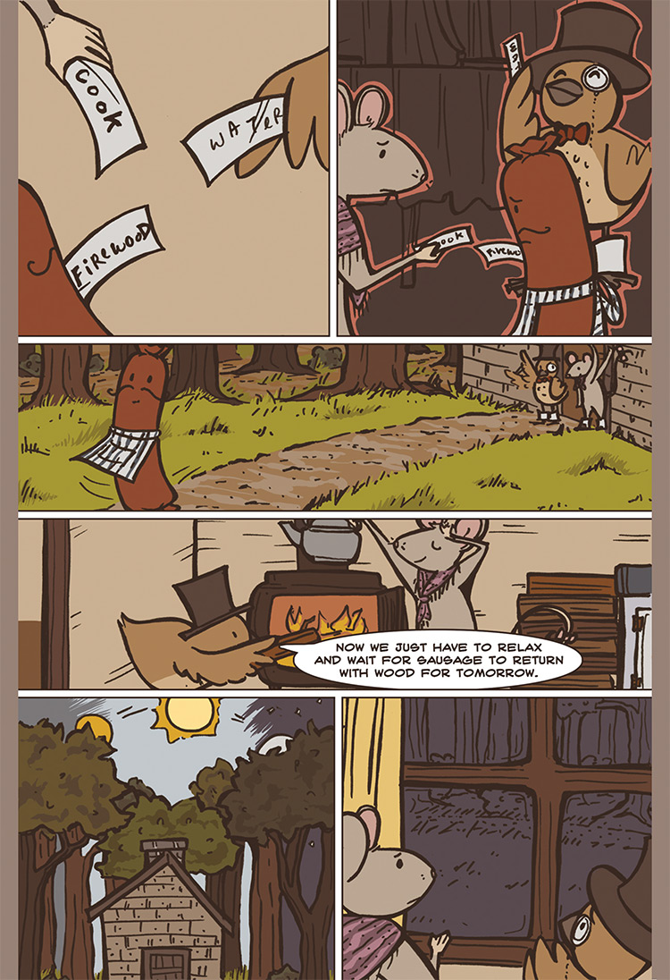 The Bird, the Mouse, & the Sausage pg07