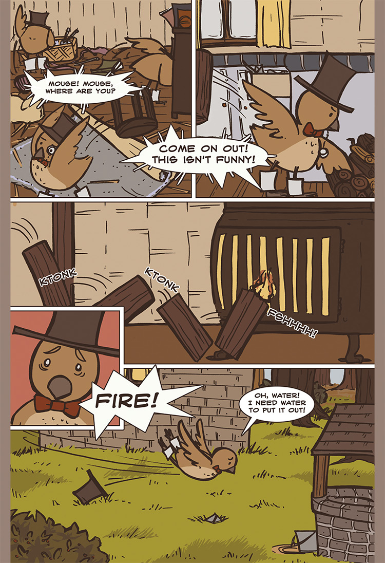 The Bird, the Mouse, & the Sausage pg11