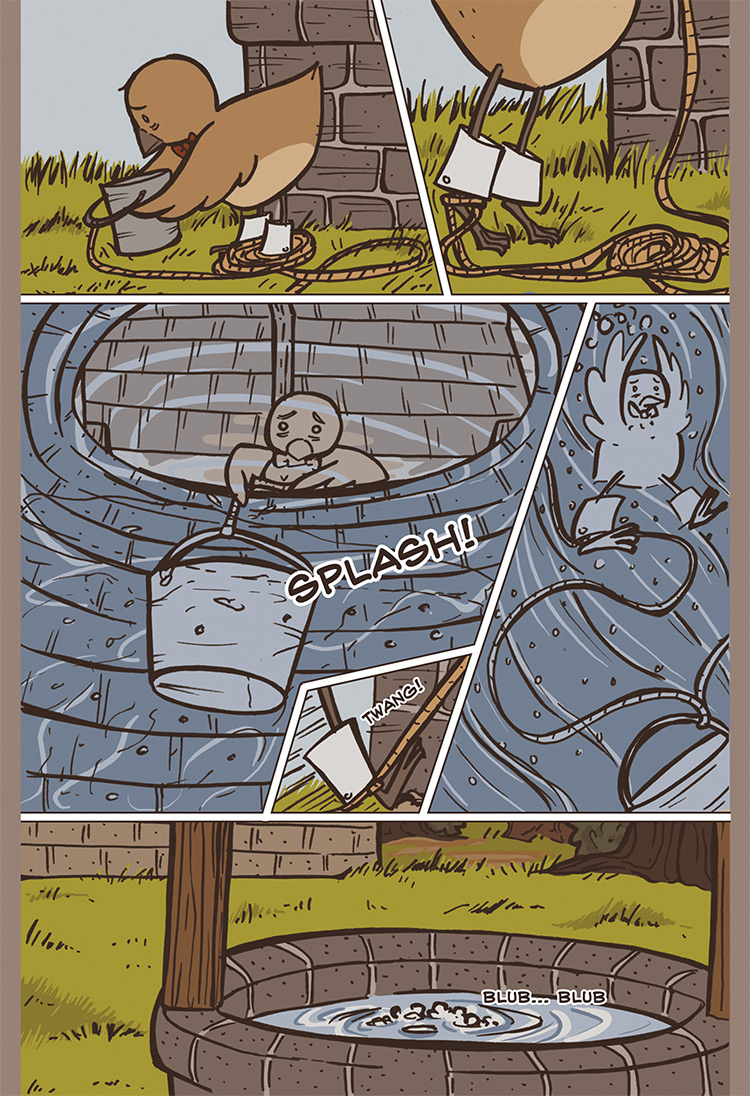The Bird, the Mouse, & the Sausage pg12