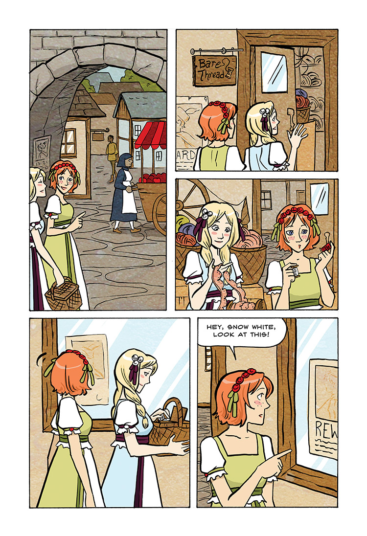 Snow White and Rose Red pg28