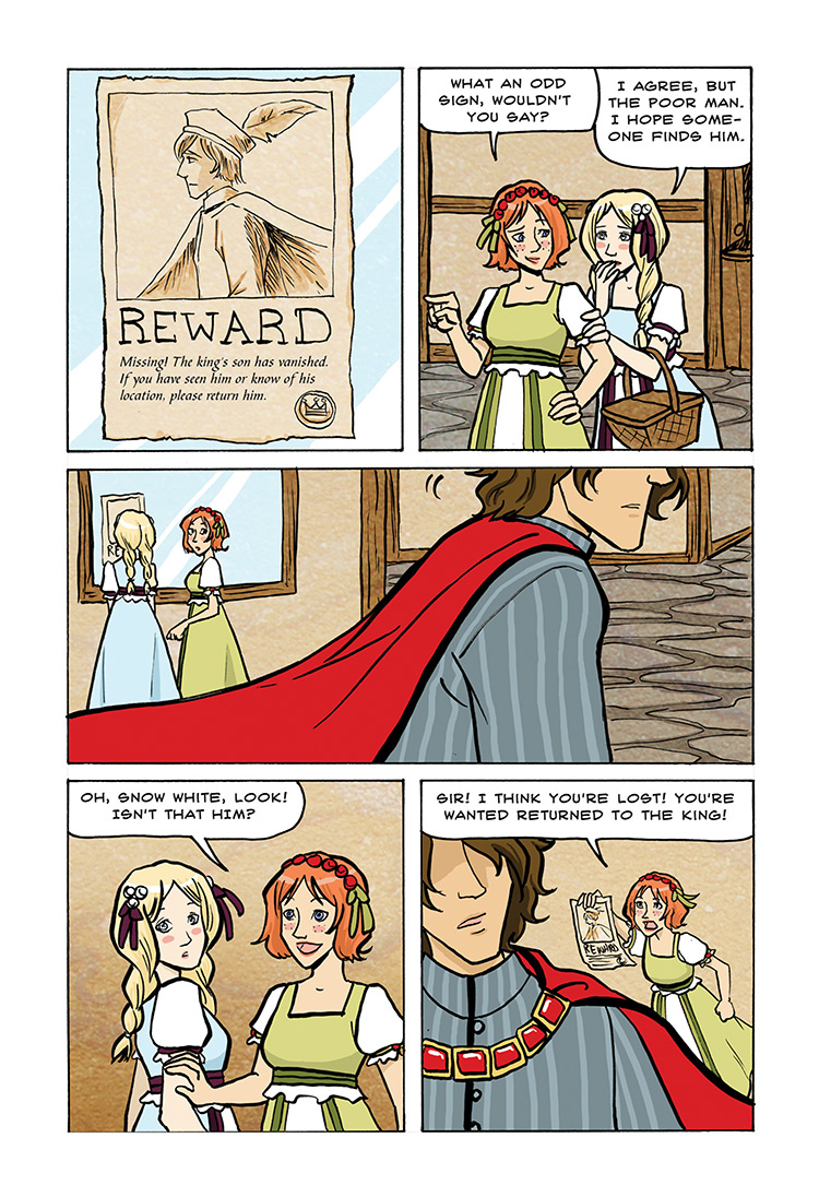 Snow White and Rose Red pg29