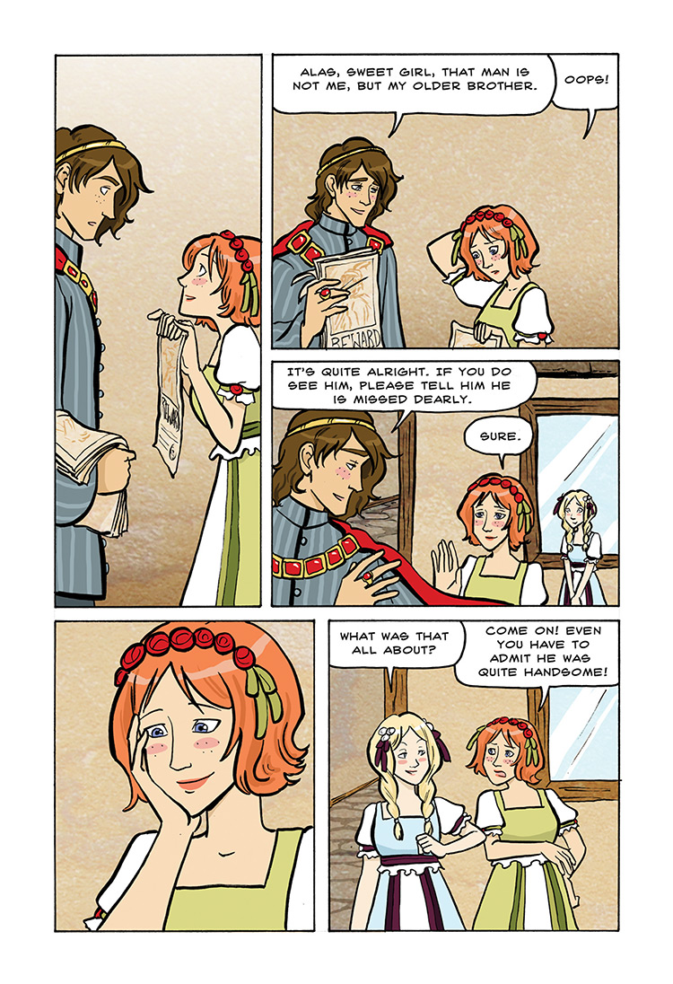 Snow White and Rose Red pg30